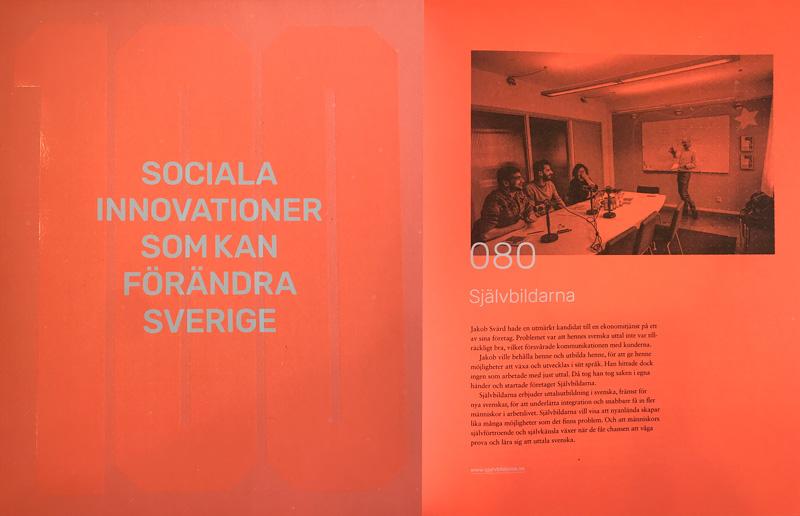 Självbildarna är en av 100 Sociala innovationer som kan förändra Sverige