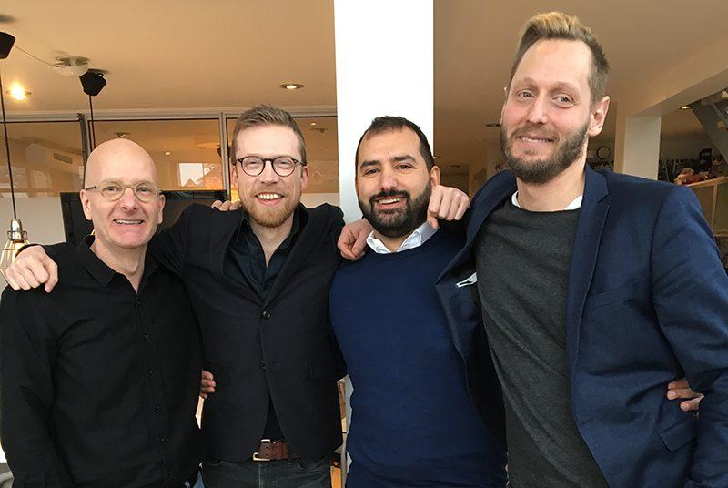 Självbildarna, inför Näringslivsgalan i Malmö